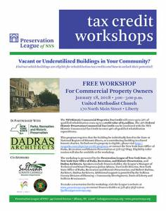 Free Tax Credit Workshop