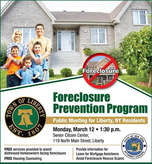 Foreclosure Prevention Program