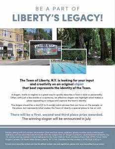 Liberty Slogan Contest
