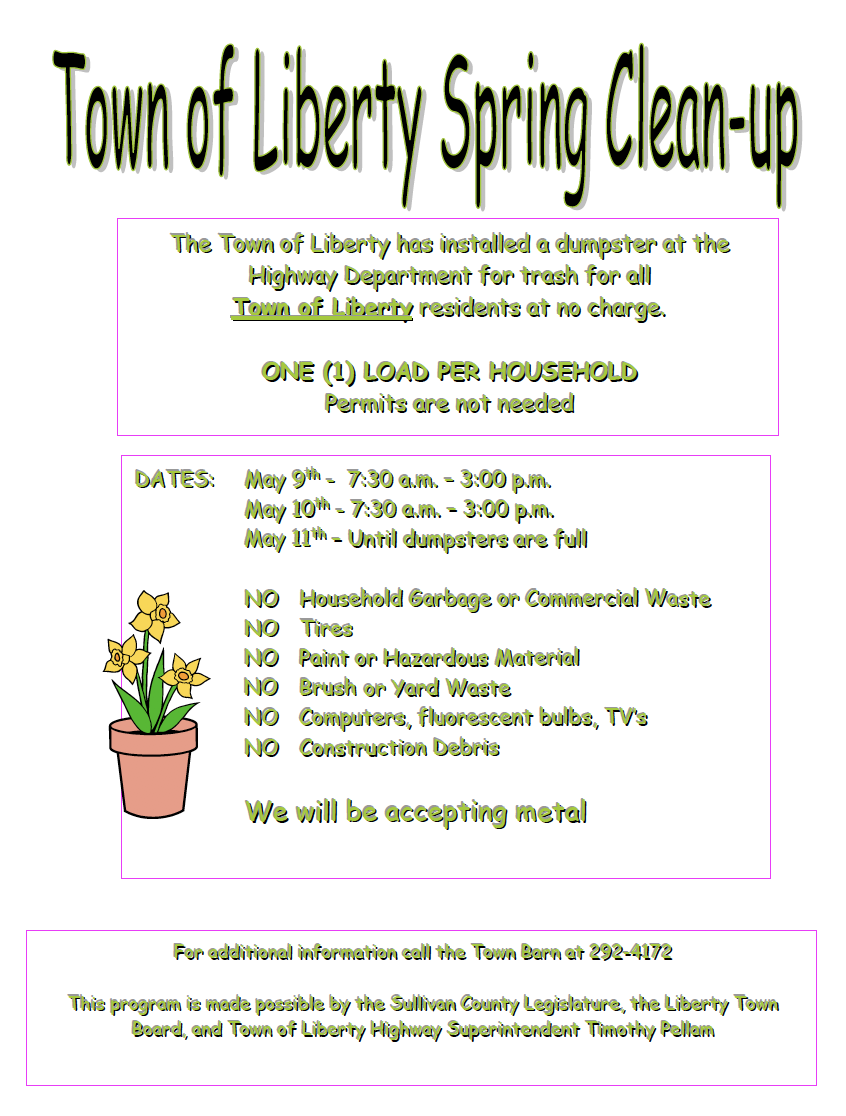 Spring Clean-up