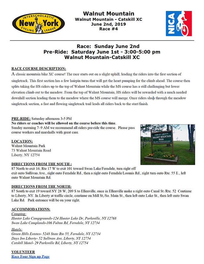 Walnut Mountain, CatskillXC Race 2019