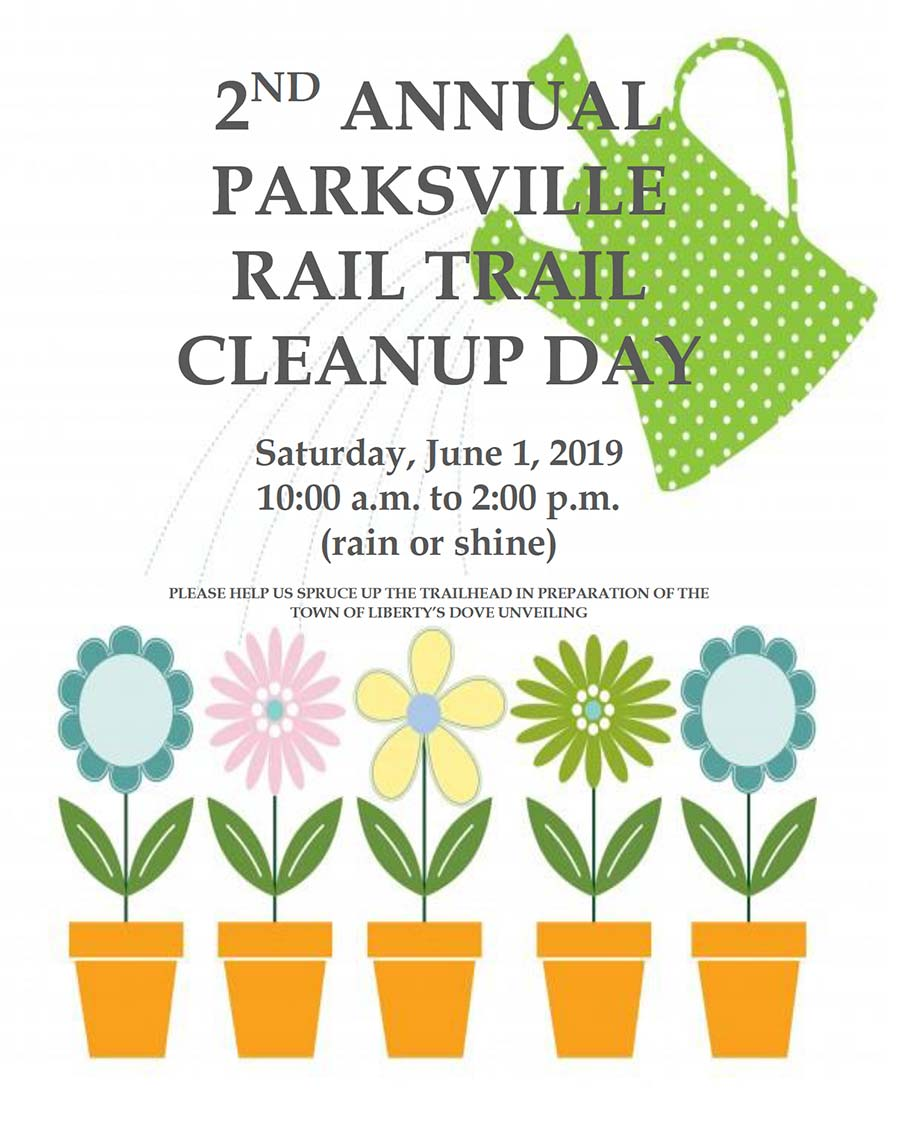 Parksville Rail Trail Cleanup Day