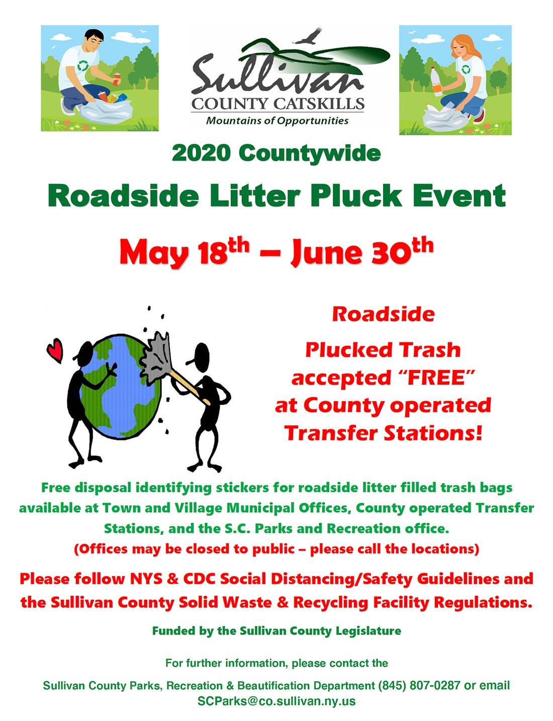 2020 Litter Pluck